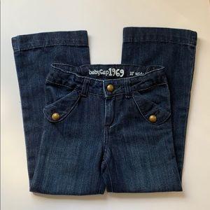 Gap girls wide leg jeans